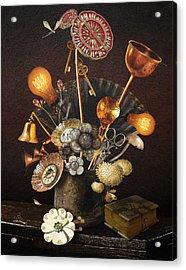 Steampunk Bouquet Acrylic Print
