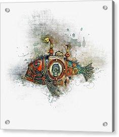 Steampunk Fish Acrylic Print