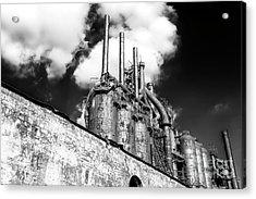 Steel Mill Rising At Bethlehem Steel Acrylic Print