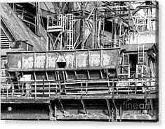 Steel Work At Bethlehem Steel Acrylic Print