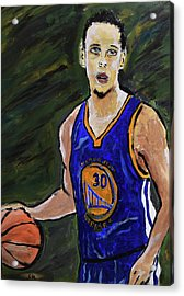 Steph Curry Acrylic Print