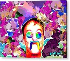 Stevie Max Acrylic Print