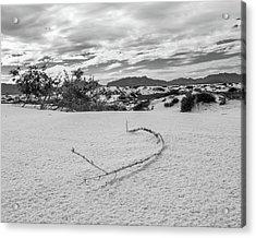 Sticky Sand Acrylic Print