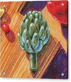 Still Life With Artichoke  Acrylic Print
