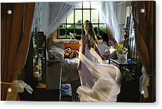 Still Twirling In My Room Acrylic Print