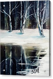 Still Winter Acrylic Print