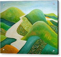 Stilling Hills Acrylic Print