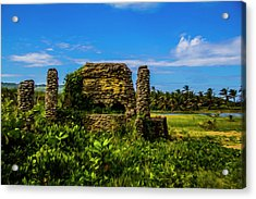 Stone Oven Acrylic Print
