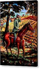 Stonewall Jackson Acrylic Print