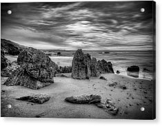 Acrylic Print featuring the photograph Storm At Leo Carrillo by John Rodrigues