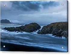 Storm At The Sea Acrylic Print