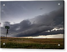 Acrylic Print featuring the photograph Storm Chasin In Nader Alley 004 by NebraskaSC