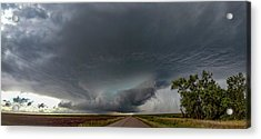 Acrylic Print featuring the photograph Storm Chasin In Nader Alley 008 by NebraskaSC
