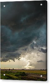 Acrylic Print featuring the photograph Storm Chasin In Nader Alley 012 by NebraskaSC