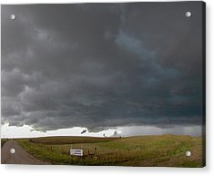 Acrylic Print featuring the photograph Storm Chasin In Nader Alley 016 by NebraskaSC
