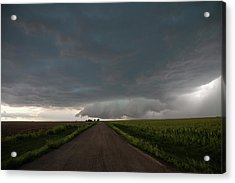 Acrylic Print featuring the photograph Storm Chasin In Nader Alley 025 by NebraskaSC