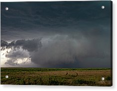 Acrylic Print featuring the photograph Storm Chasin In Nader Alley 030 by NebraskaSC
