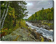 Storm Clouds At Jay Cooke Acrylic Print