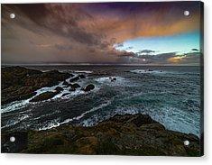 Storm Coastline Acrylic Print