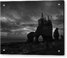 Storm Over Fundy Acrylic Print