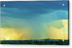 Storm Over Spring View Apartments Acrylic Print