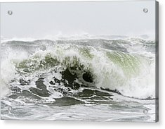 Storm Surf Spray Acrylic Print