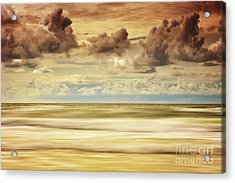 Stormy North Sea Acrylic Print