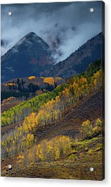 Acrylic Print featuring the photograph Stormy Weather Over The Elks by John De Bord