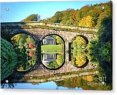 Stourhead Autumn Acrylic Print