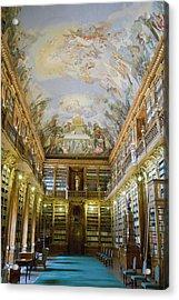 Strahov Library, Prague, Czech Republic Acrylic Print by Gavin Gough