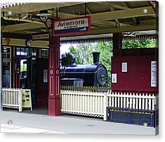 Strathspey Railway. Caladonian Railway 828 Acrylic Print