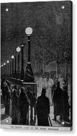 Street Lights Acrylic Print by Hulton Archive