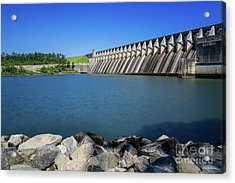 Strom Thurmond Dam - Clarks Hill Lake Ga Acrylic Print