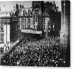 Student Protest Acrylic Print by Hulton Archive