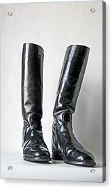 Studio. Riding Boots. Acrylic Print