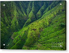 Stunning Aerial View Of Spectacular Acrylic Print