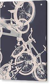 Stunt Bike Trickery Acrylic Print