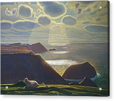 Sturrall Donegal Ireland Acrylic Print by Rockwell Kent