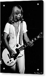 Acrylic Print featuring the photograph Styxspo77 #18 Enhanced Bw by Ben Upham