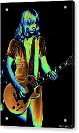 Acrylic Print featuring the photograph Styxspo77 #18 Enhanced In Cosmicolors by Ben Upham