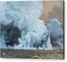 Submerged Lava Bomb Acrylic Print