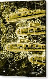 Submersible Seas Acrylic Print