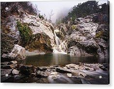 Suchurum Waterfall, Karlovo, Bulgaria Acrylic Print