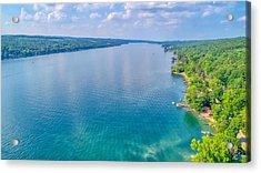 Summer On Keuka Lake Acrylic Print