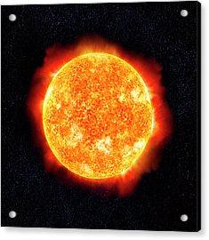 Sun & Stars Acrylic Print by Ian Mckinnell