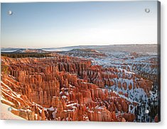 Sun Rising Over Bryce Canyon Acrylic Print