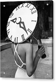 Sundial Hat Acrylic Print