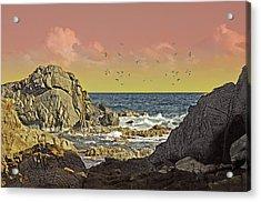 Sundown At Buck Acrylic Print