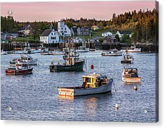 Sundown At Cutler, Maine Acrylic Print