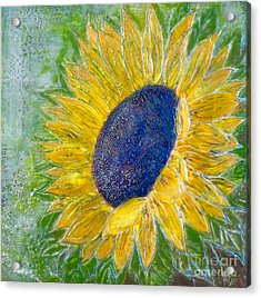 Sunflower Praises Acrylic Print